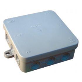 Prožna razvodnica na nadometno montažo 100x100 mm, IP54