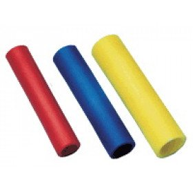 Izolirani vezni tulec 1,5 mm2, L=25 mm, d1=2 mm, rdeč