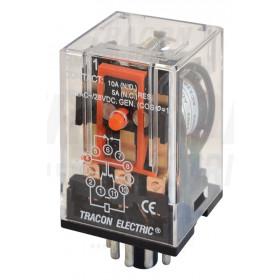 Industrijski rele 230 V AC s 3 preklop. kontakt., 230 V AC/ 28 V