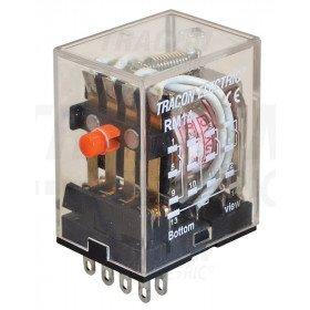Miniaturni rele 24 V DC s 4 preklop. kontakt., 230 V AC/ 28 V DC