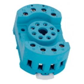 Podnožje za RM08, RT08 industrijski rele z 2 kontaktoma