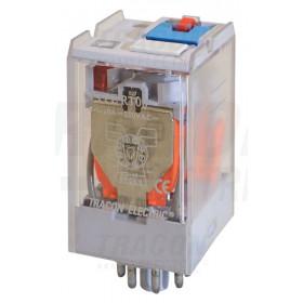 Močnostni industrijski rele 12 V DC z 2 preklop. kontakt., 230V AC / 28V DC
