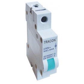 Vrstna LED signalna svetilka AC/230V, modra