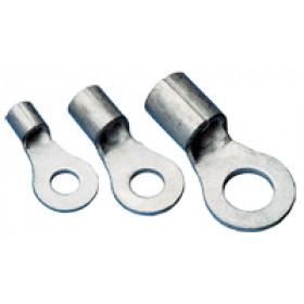 Očesni kabelski čevelj 1,5 mm2, d1=2,5 mm, d2=3,7 mm