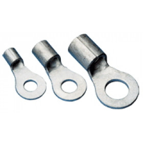 Očesni kabelski čevelj 1,5 mm2, d1=2,5 mm, d2=8,4 mm