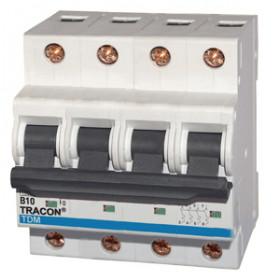Instalacijski odklopnik - avtomatska varovalka (10 kA) C-4P-40 A