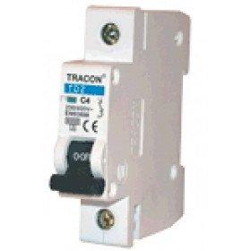 Instalacijski odklopnik - avtomatska varovalka C-1P-6 A, 6 kA