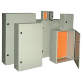 Kovinska razdelilna omara IP55 400x400x200 mm