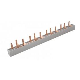 Zbiralka 3-fazna, igličasta, 12 modul, 215mm, max. 63 A