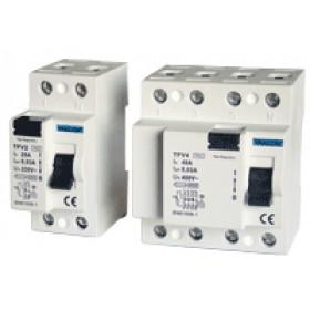 Omrežno zaščitno stikalo - FID 16 A, 30 mA; 4P, 6 kA, AC