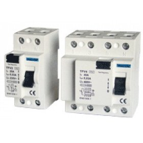 Omrežno zaščitno stikalo - FID 40 A, 300 mA, 4P, 6 kA, AC