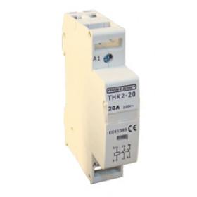 Inštalacijski kontaktor 230/400V, 3P, 3×NO, 40A, 230V AC