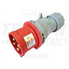 Industrijski vtikač, s povečano zaščito 32A, 400V, 3P+E, 6h, IP67