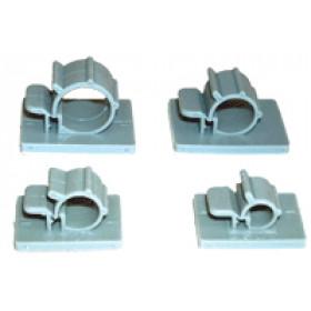 Klip za pritrjevanje kablov in cevi d=7-8 mm