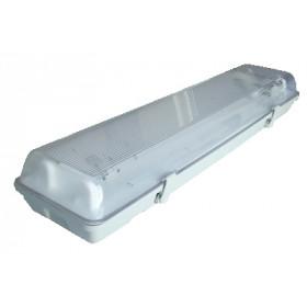 Svetilka nadgradna 2x18 W z elektronsko dušilko, IP 65