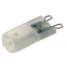 Halogenska žarnica, 3 kom./blister, G9, 60W, mlečno steklo