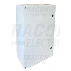 Plastična razdelilna omara L×W×H=280×210×130mm, IP65, IK08, 1000V AC/DC, RAL7035