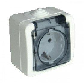Nadometna vtičnica 16A/250V, IP54