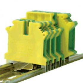 Vrstna sponka VS, ozemljitvena, 0,2-2,5 mm2, 32A, r/z