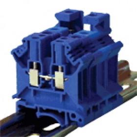 Vrstna sponka VS, ničelna, 16-50 mm2, 150A, modra