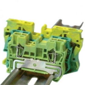 Vrstna sponka VS, ozemljitvena, 0,14-1,5 mm2, 17,5 A