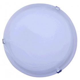 Plafonjera UFO, stropna, bela, 2x60 W, 2xE27, 300 mm