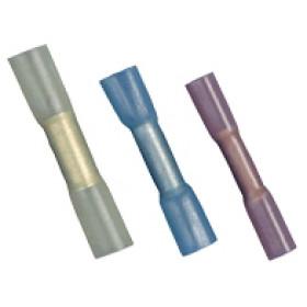 Krčljiv vezni tulec 2,5 mm2, L=36,6 mm, d1=2,4 mm, moder