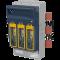 Varovalčno preklopno ločilno stikalo, horiz., za 100mm zbir., AC 690V, DC 440V, 400A, 3P, 2
