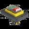 Varnostno pritisno stikalo z relejem 5PIN, 230 VAC, 12A/AC1, IP54, 6,3×0,8