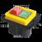 Varnostno pritisno stikalo z relejem 6PIN, 400 VAC, 8A/AC1, IP54, 6,3×0,8