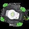Ročni montažni LED reflektor s funkcijo zunan. akumulatorja 10 W, 6500 K, 3,7 V, 4400 mAh, Li-Ion, 1000 lm, 3 h, IP54
